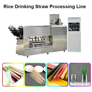 High speed PP PE Drinking Straw Making Machine / Drinking Straw Extruder