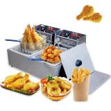 Ce Approval Stainless Steel Commercial Electric Deep Fryer
