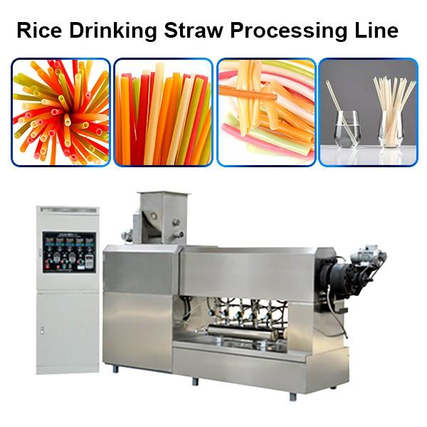 single color drinking straw making extruder machine plastic pipe lollipop stick making machine #1 image