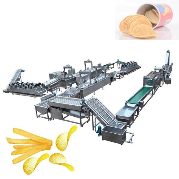 Full Automatic French Fries Potato Chips Making Production Machine Line #1 image