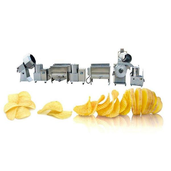 Manufacturing Frying Production Line Fresh Frozen French Fries Sticks Fully Automatic Lays Potato Chips Making Machine #1 image