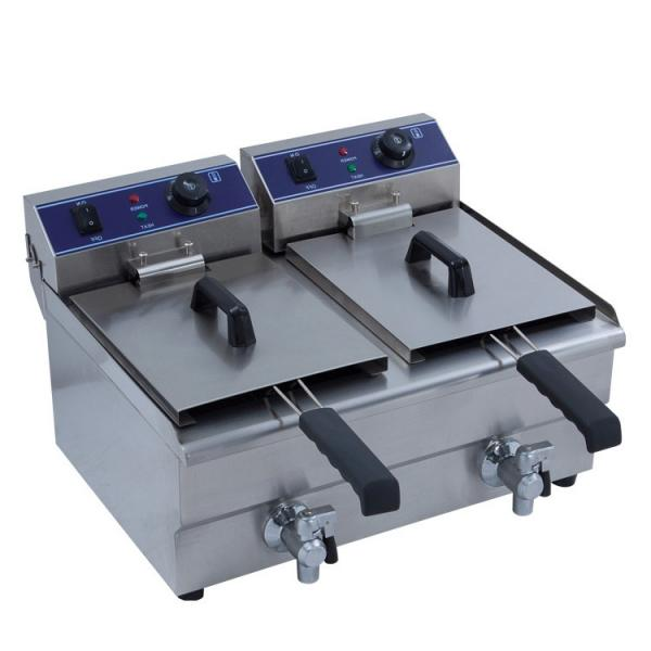 Commercial Industrial Fast Food Chicken Electric Gas Pressure Deep Fryer #1 image