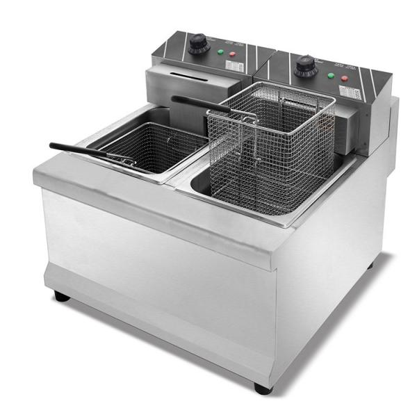 Commercial Kitchen Equipment Pressure Fryer for Fried Chicken Shop Gas Electric Fryer Food Equipment Machinery Deep Fryer #1 image